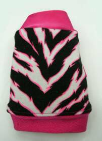 Zebra with Pink in    Shirt